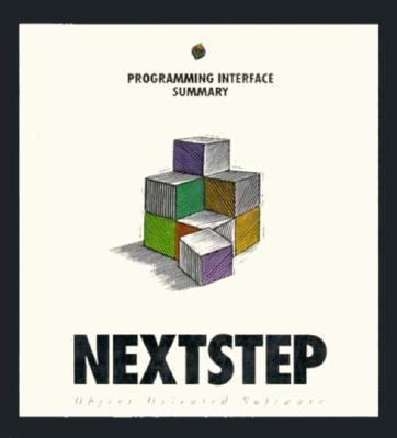 Nextstep Programming Interface Summary Release 3