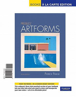 Prebles' Artforms, Books a la Carte Edition