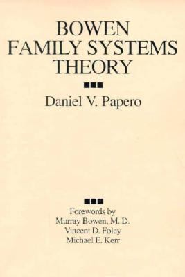 Bowen Family Systems Theory