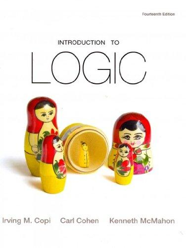 Introduction to Logic with MyLogicLab Pegasus with Pearson eText (14th Edition)
