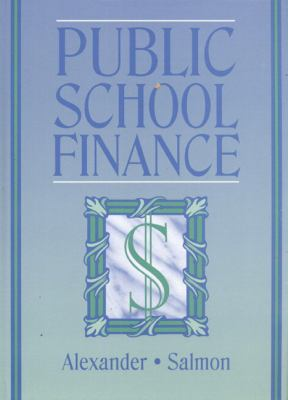Public School Finance in the United States