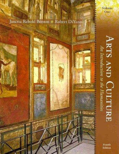 Arts and Culture: An Introduction to the Humanities, Volume I and MyHumanitiesKit -- Valuepack Access Card Package (4th Edition)