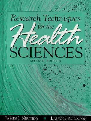 Research Techniques for Health Sciences