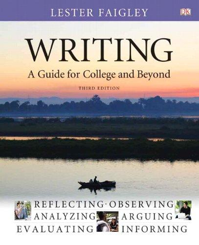 Writing: A Guide for College and Beyond (3rd Edition)