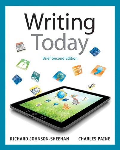 Writing Today, Brief Edition (2nd Edition)