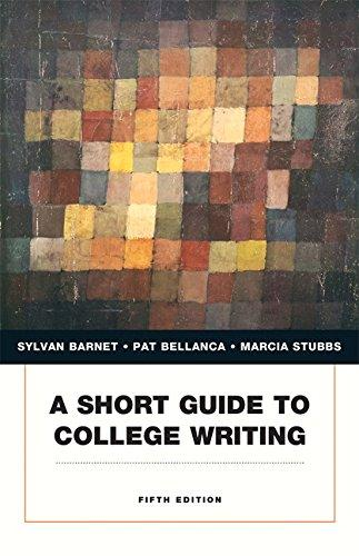 A Short Guide to College Writing (5th Edition) (Penguin Academics)