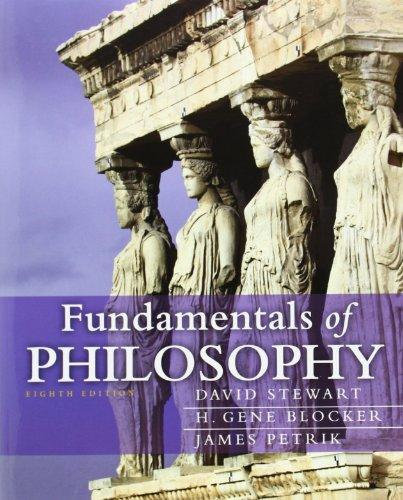 Fundamentals of Philosophy (8th Edition) (MyThinkingLab Series)