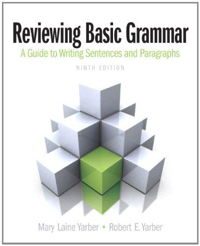 Reviewing Basic Grammar (9th Edition)