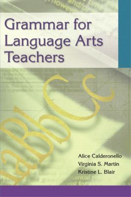 Grammar for Language Arts Teachers