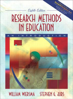 Research Methods in Education An Introduction