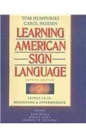 Learning American Sign Language: Beginning & Intermediate : Levels I & II (VHS Included)