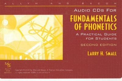 Fund.of Phonetics-2 Cds Only