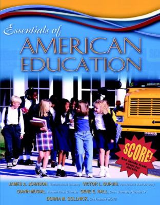 Essentials Of American Education Mylabschool