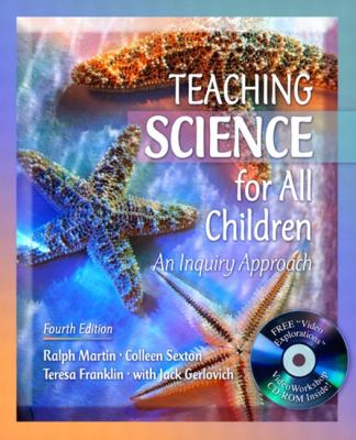 Teaching Science For All Children An Inquiry Approach With Video Explorations Videoworkshop, Mylabschool