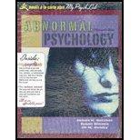 Abnormal Psychology, Books a la Carte Plus MyPsychLab (13th Edition)