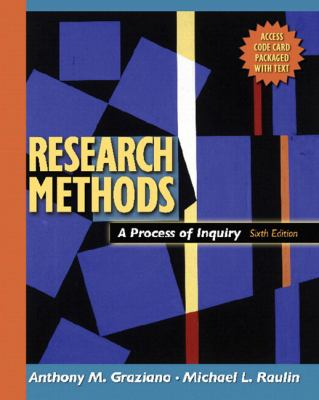 Reasearch Methods A Process of Inguiry With Website Access