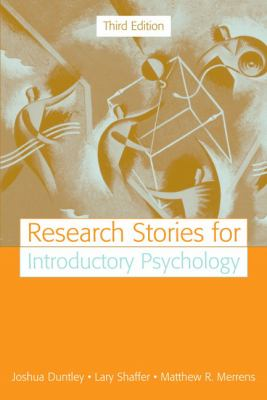 Research Stories for Introductory Psychology (3rd Edition)