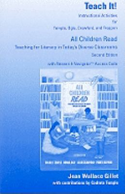 All Children Read-Teach It! Instructor's Activities