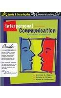 Interpersonal Communication: Relating to Others, Books a la Carte Plus MyCommunicationLab CourseCompass (5th Edition)