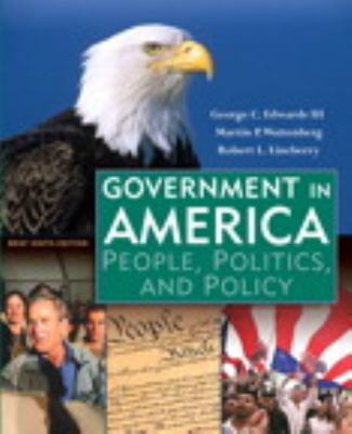 Government in America, Brief Study Edition, Books a la Carte Plus MyPoliSciLab CourseCompass (9th Edition)