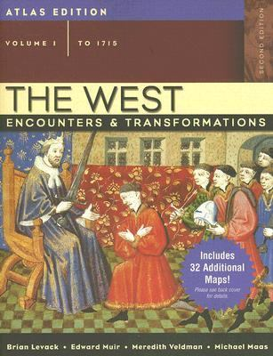 West Encounters & Transformations To 1715 Atlas Edition