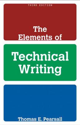 Elements of Technical Writing