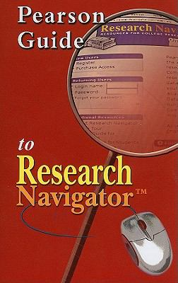Pearson Guide to Research Navigator