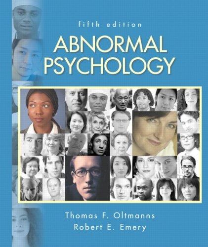 Abnormal Psychology Value Package (includes Current Directions in Abnormal Psychology)