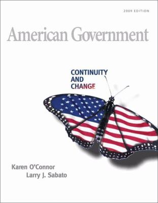American Government: Roots and Reform, 2009 Edition (10th Edition) (MyPoliSciLab Series)