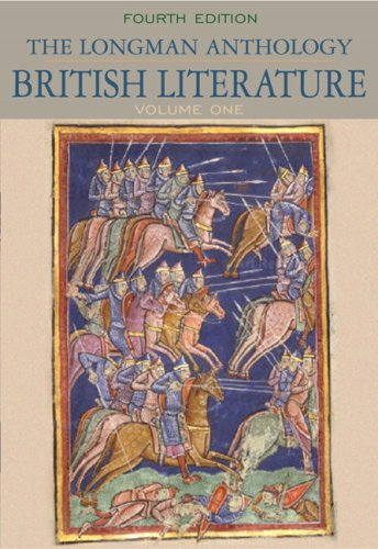Longman Anthology of British Literature, The, Volume 1 (4th Edition)