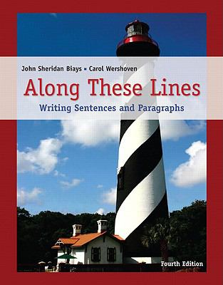 Along These Lines: Writing Sentences and Paragraphs (with MyWritingLab Student Access Code Card)