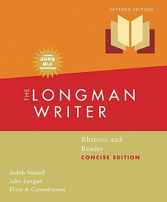 Longman Writer: Rhetoric, Reader, Research Guide