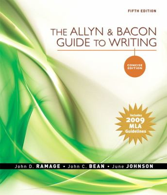Allyn & Bacon Guide to Writing, Concise Edition, The, MLA Update Edition (5th Edition)