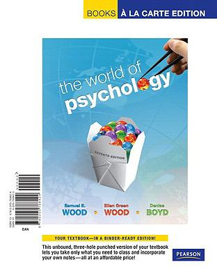 World of Psychology, The, Books a la Carte Edition (7th Edition)