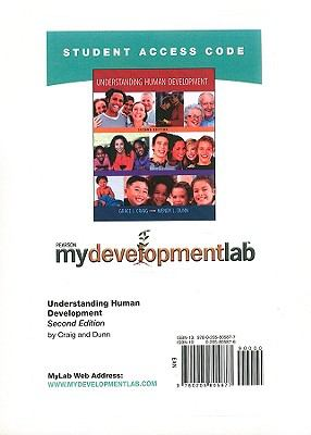 MyDevelopmentLab Student Access Code Card for Understanding Human Development (Standalone) (2nd Edition)