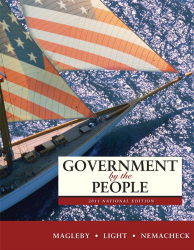 Government by the People, 2011 National Edition (24th Edition)