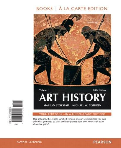 Art History Volume 1, Books a la Carte Edition (5th Edition)