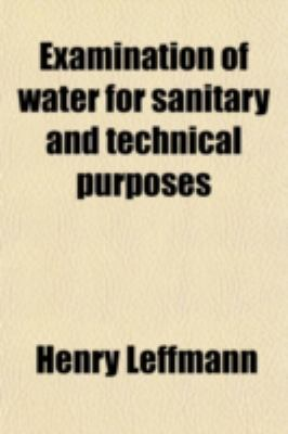 Examination of water for sanitary and technical purposes