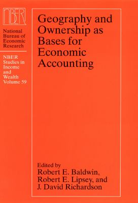 Geography and Ownership As Bases for Economic Accounting