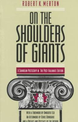 On the Shoulders of Giants A Shandean Postscript  The Post-Italianate Edition