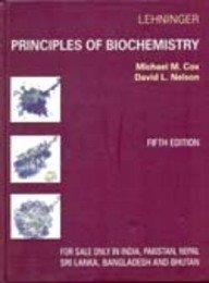 Principles of Biochemistry Fifth Edition (Hardbound International Edition)
