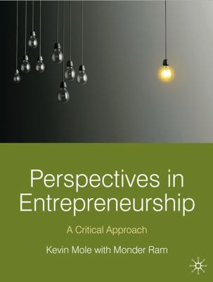 Perspectives in Entrepreneurship: A Critical Approach