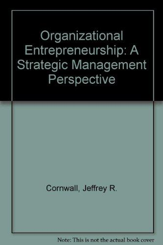 Organizational Entrepreneurship