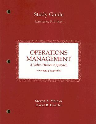 Operations Management A Value Driven Approach