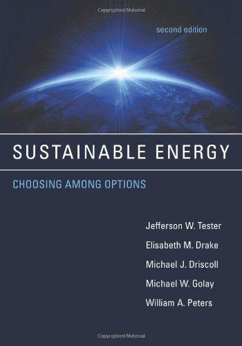 sustainable energy choosing among options second edition pdf