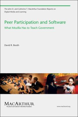 Peer Participation and Software : What Mozilla Has to Teach Government