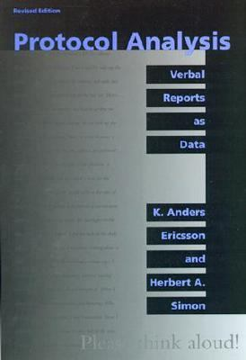Protocol Analysis Verbal Reports As Data