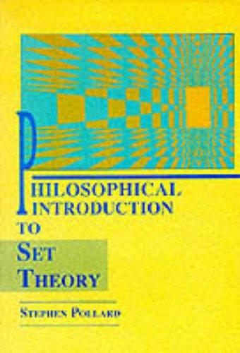 Philosophical Intro To Set Theory: Philosophy