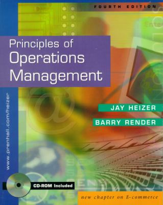 Principles of Operations Management and Interactive CD Package with Pin Card