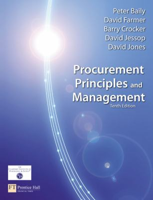 Procurement Principles & Management, 10th edition
